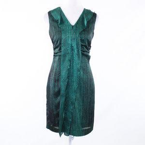 Kenneth Cole green sleeveless sheath dress 4